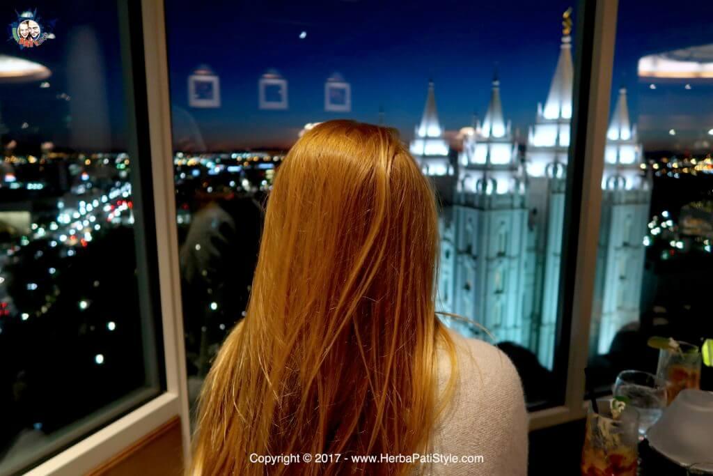 Tramonto al The Roof Restaurant - Ristorante a Salt Lake City