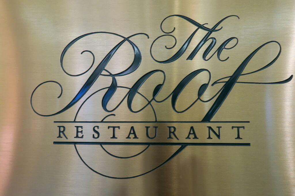 Logo del The Roof Restaurant, ristorante a Salt Lake City