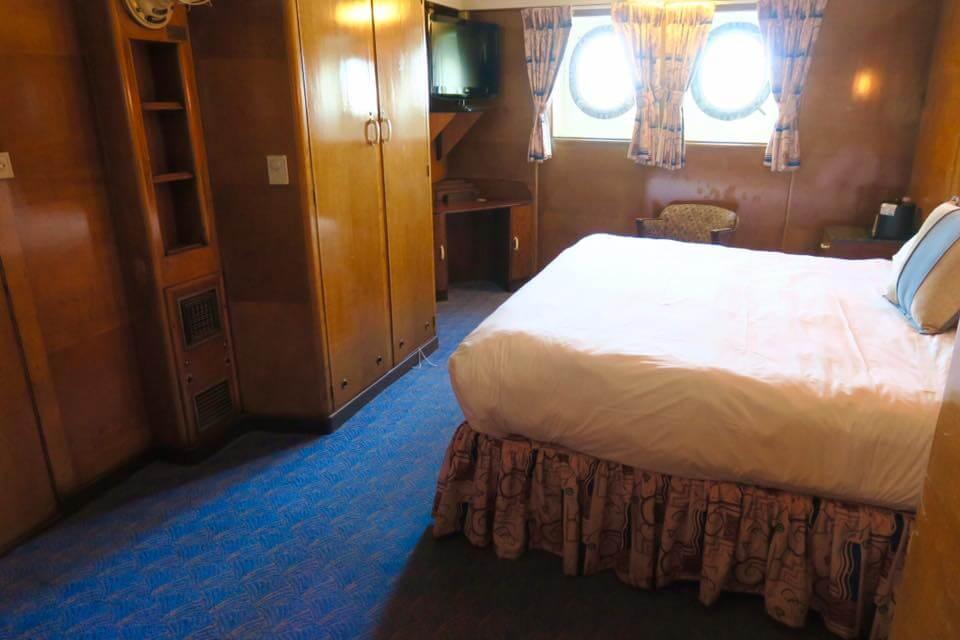 Dormire sulla Queen Mary