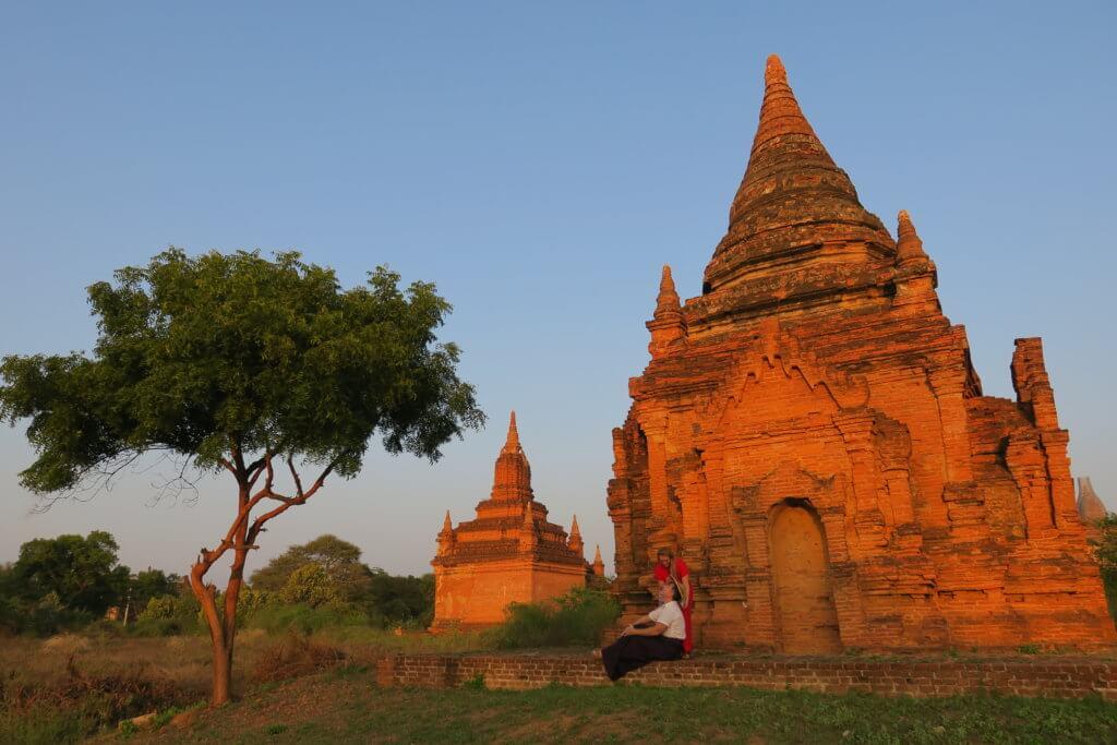 Umbra Hotel a Bagan - pagode