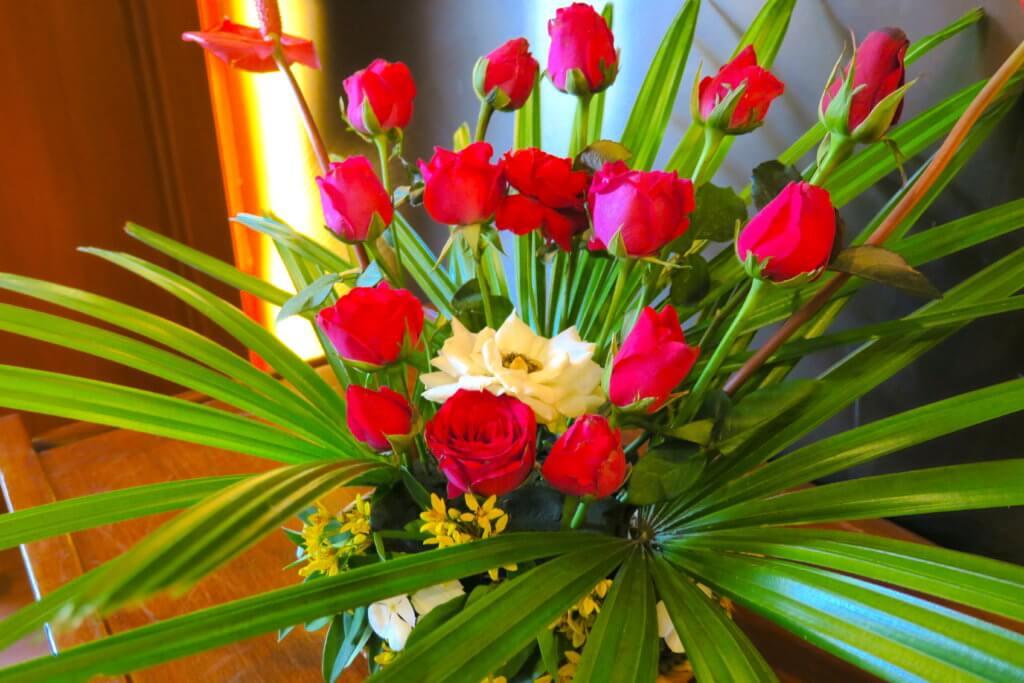 Umbra Hotel a Bagan - fiori