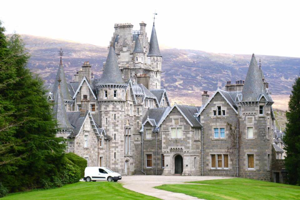 Scozia in quad