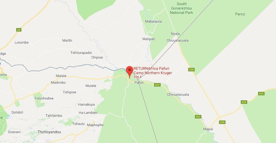 Lodge nel Nord del Kruger: il RETURNAfrica Pafuri Camp