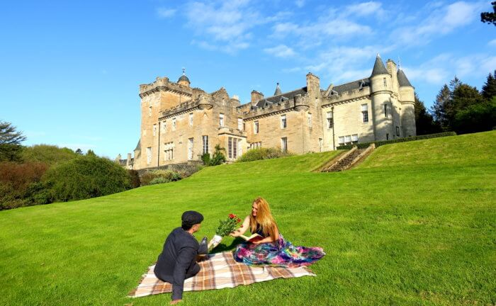 Dormire in un castello in Scozia al Glenapp Castle ...