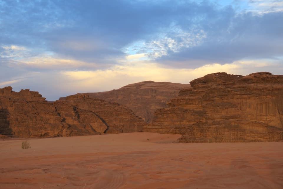 Dormire nel Wadi Rum: notte