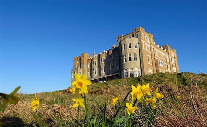 Dormire in un castello in Cornovaglia: il Camelot Castle ...