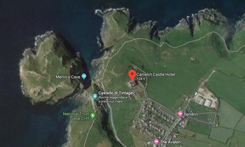 Dormire in un castello in Cornovaglia: il camelot Castle
