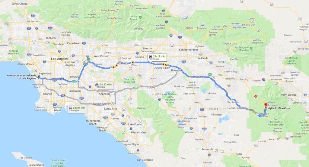 Viaggio in America | Giorno 1 - La foresta di San Bernardino