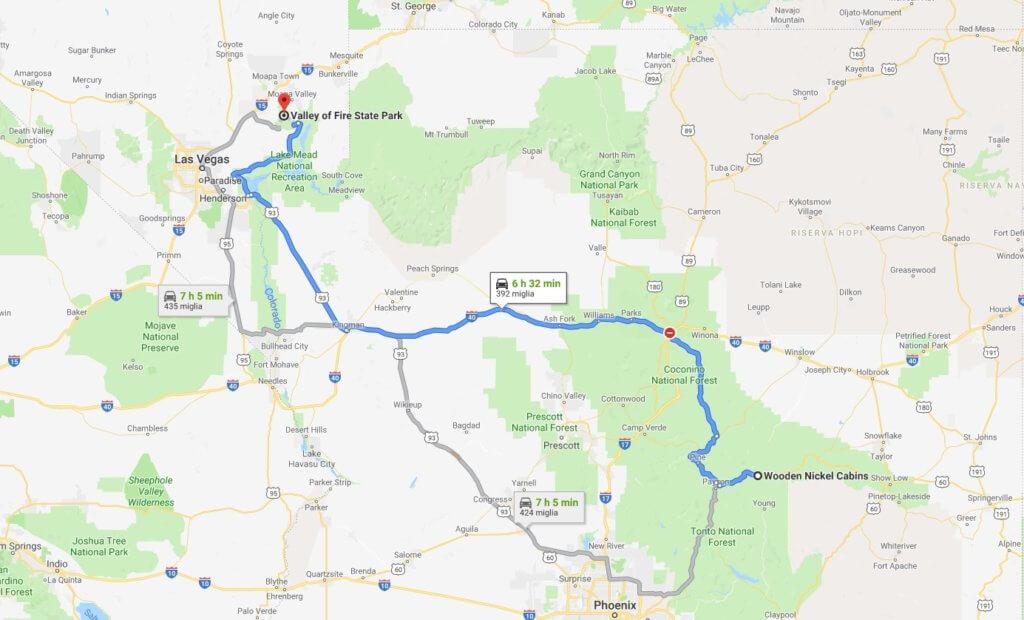 Viaggio in America | Giorno 6 - La Valley of Fire nei pressi di Las Vegas