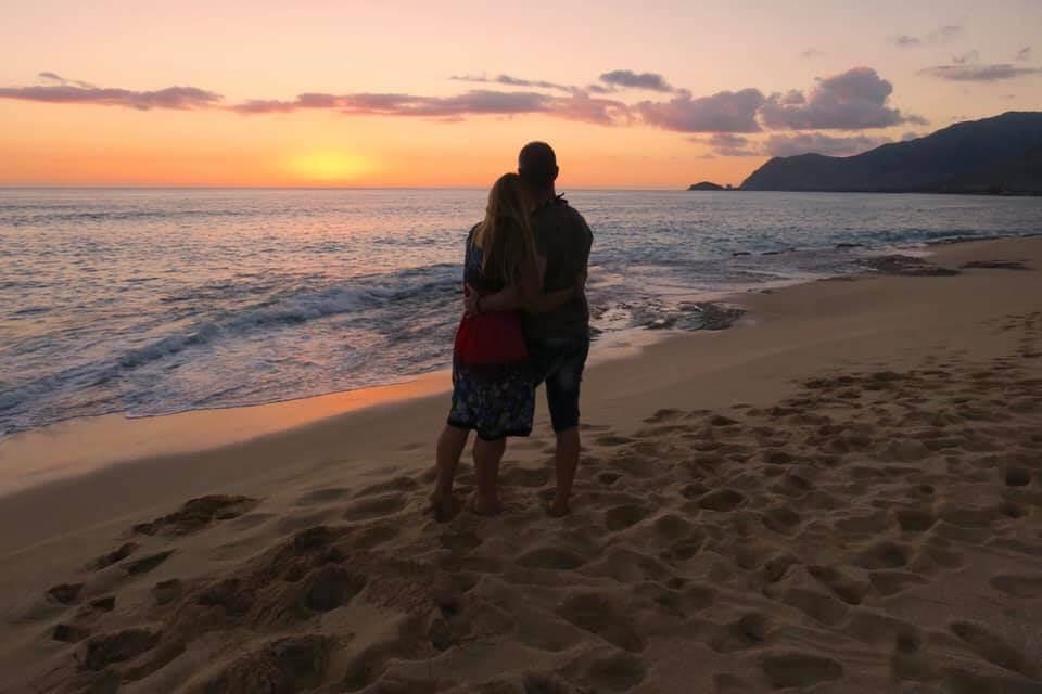 viaggio alle Hawaii - tramonto