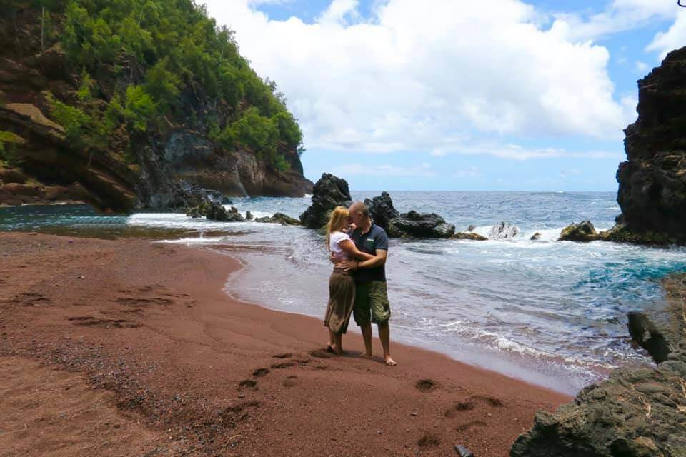Hawaii - Maui - Road to Hana - Red Beach