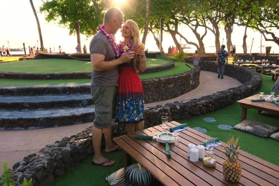 viaggio alle Hawaii - Luau a Maui