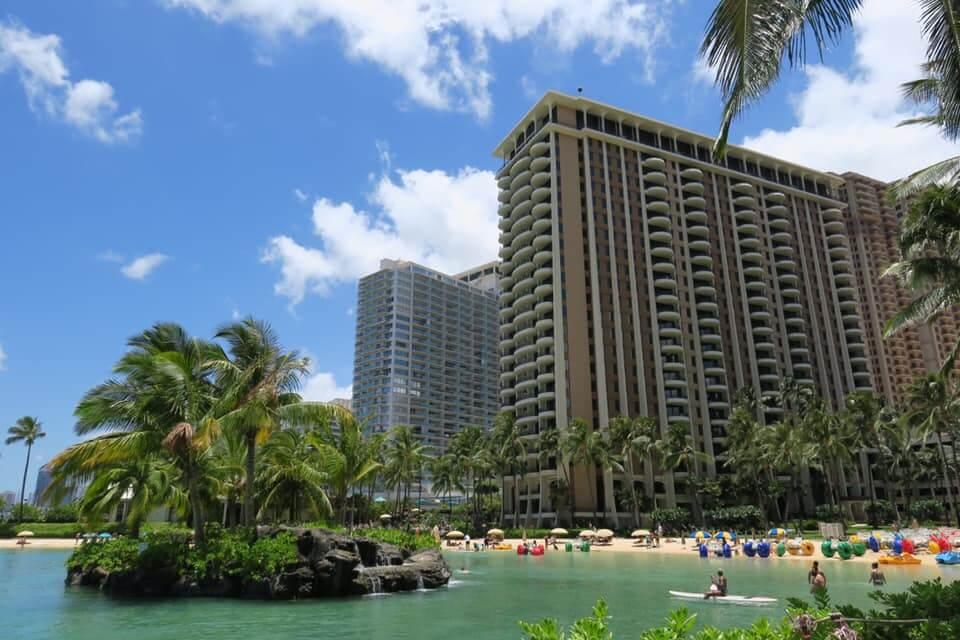 Laguna dell'Hilton Hawaiian Village