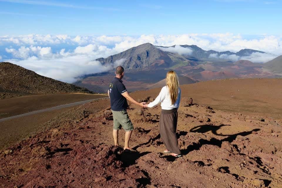 viaggio alle Hawaii - Vulcano Haleakala a Maui