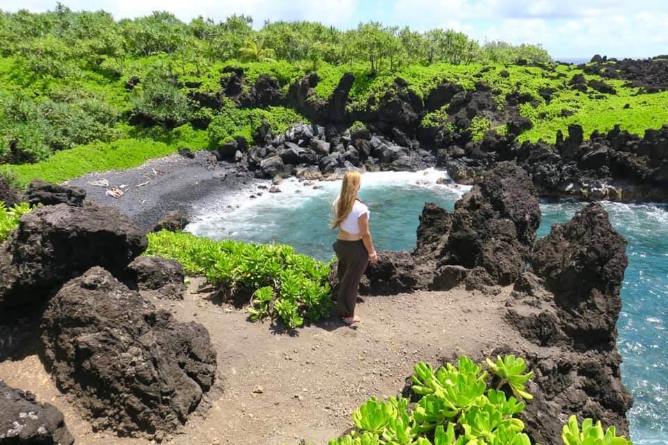 Hawaii - Maui - Road To Hana - Black Beach
