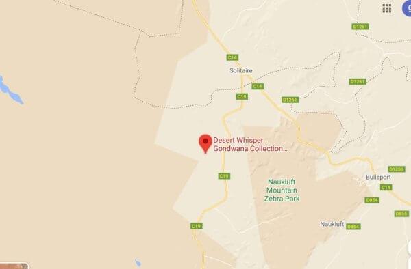 Un rifugio romantico namibia